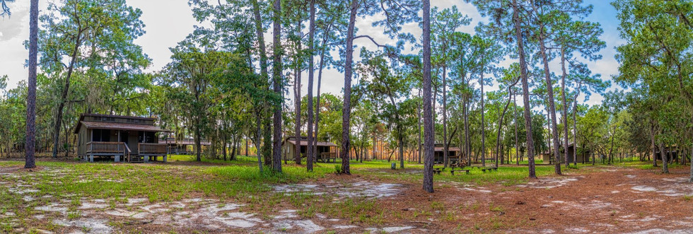 Panorama Of Cabins