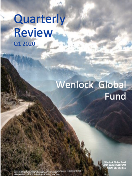 Q1-2020 Newsletter