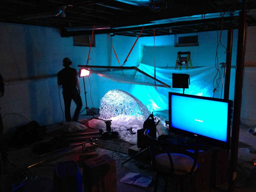 Crystal Cave Built and Lit