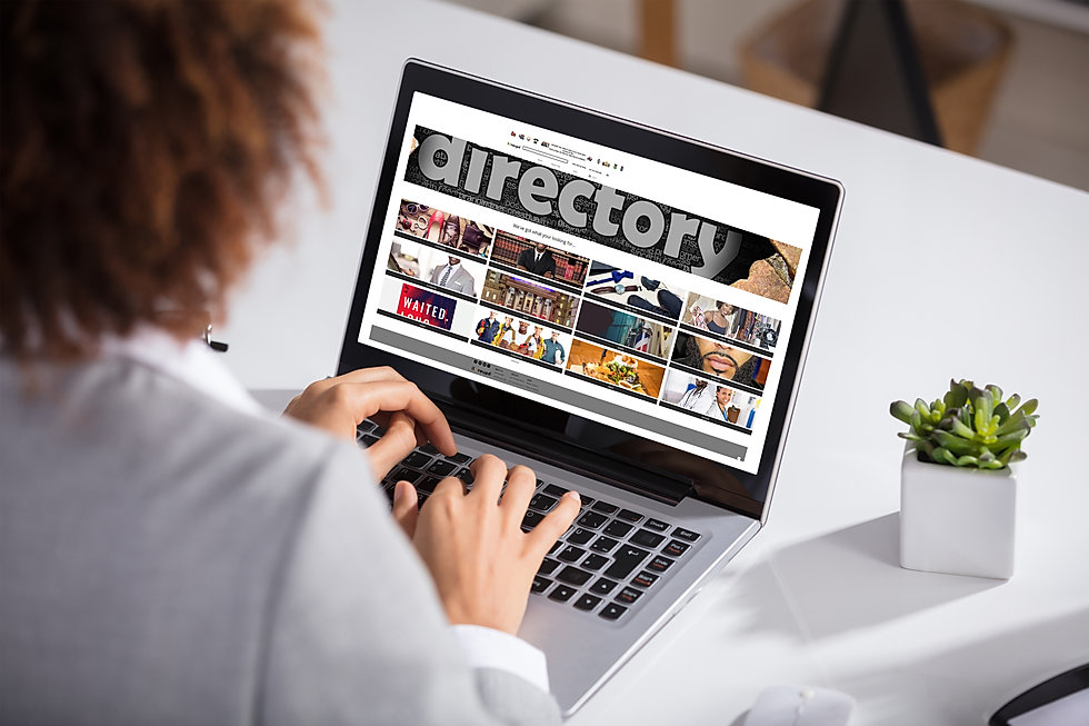 Woman on Computer on UPD Directory.jpg