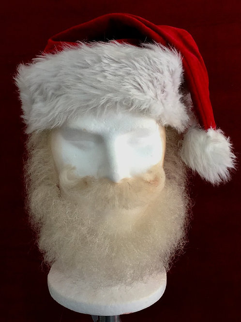 Short Yak Hair Santa Claus Beard