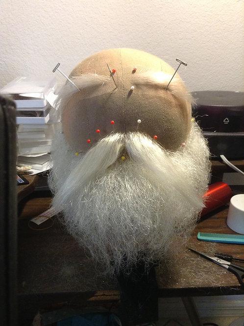 Walrus Santa Set: Beard & Mustache