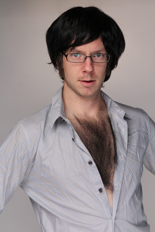 how to create fake chest hair at home