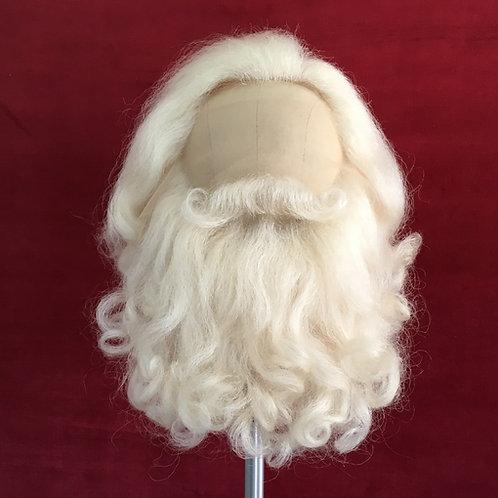 Long Santa Wig & Beard Set
