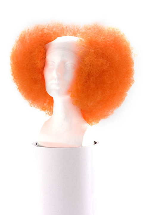 Red Penny Clown Wig