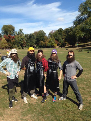 Wolek's Famous Beards in Circle Rules Football in Brooklyn NY