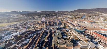 Panorama Tour Luftaufnahme Aarau