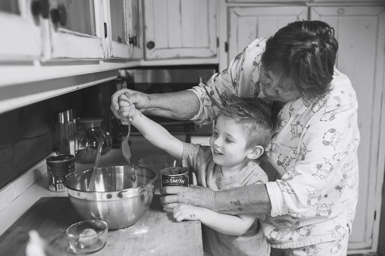 baking with grandma log home lifestyle