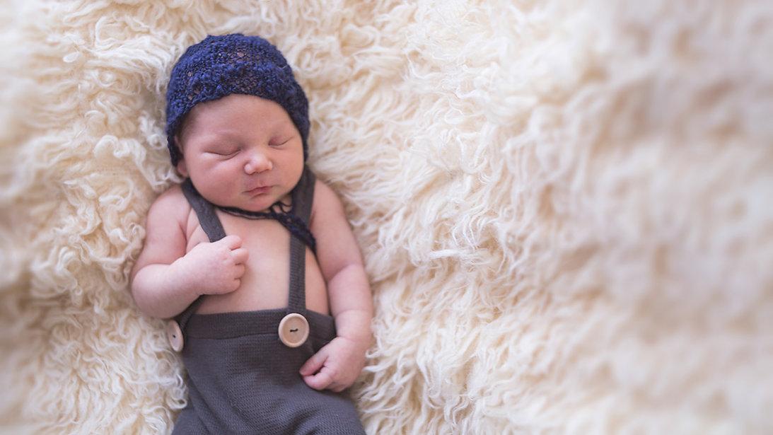newborn photography muskoka baby boy fine art
