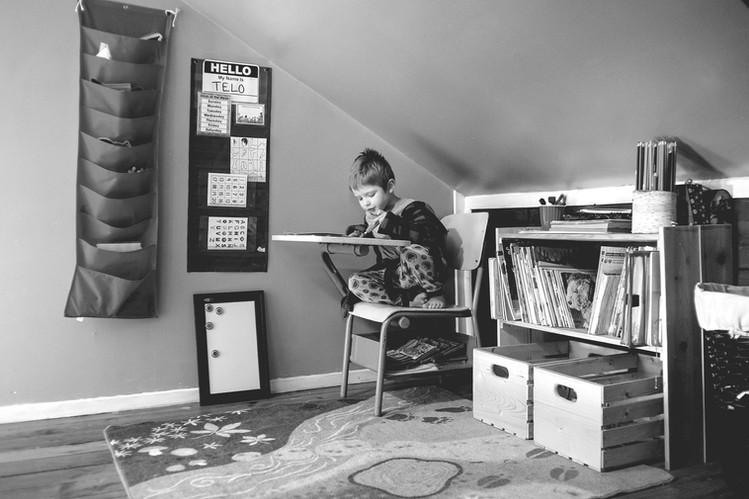 child learning photo photography muskoka