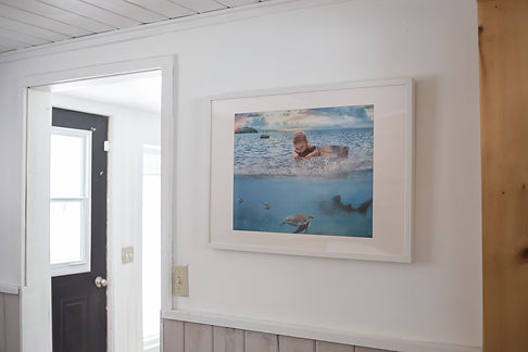 photography art wall frame home decor child water bucket art