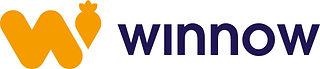 Winnow_logolockup_land_orangepurple_cmyk