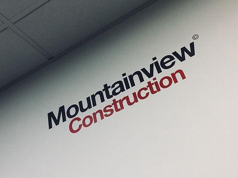 Mountainview Construction logo