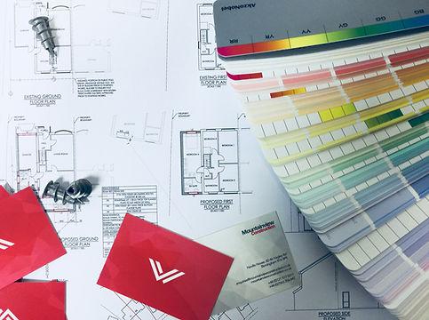 Mountainview interior design plans