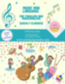 (Music and Language) for Toddlers and pr