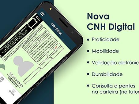 CNH DIGITAL é liberada em São Paulo