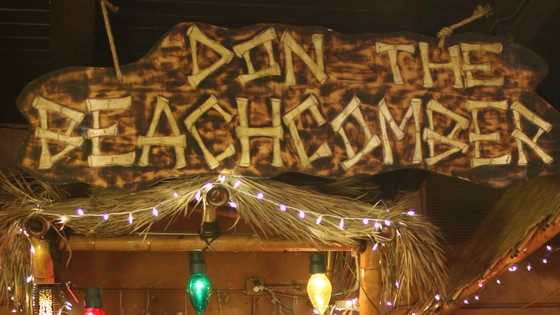 Don the Beachcomber - Tiki Makeke in Huntington Beach - For the Love of Tiki