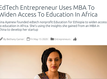 EdTech Entrepreneur Uses MBA To Widen Access To Education In Africa