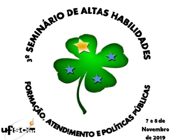 3º Seminário de Altas Habilidades: Formação, atendimento e políticas públicas