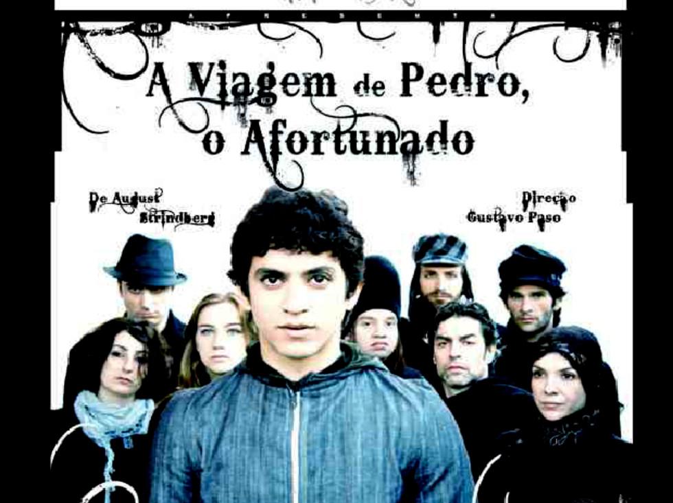 cartaz - A Viagem de Pedro, O Afortunado