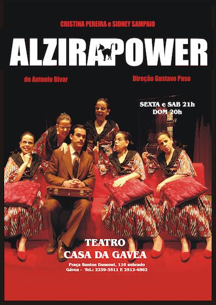 CARTAZ ALZIRA POWER