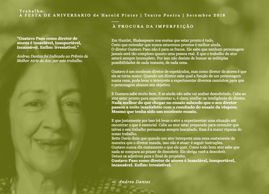 Andrea Dantas - Atriz