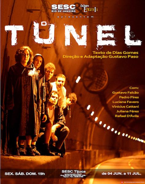 O TUNEL - CARTAZ vertical