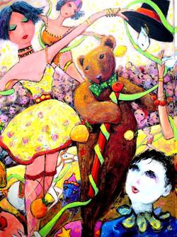 The Juggler and Dancing Bear