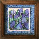 """Purple Iris Garden"""