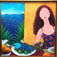 """Blue Fish Dinner"""