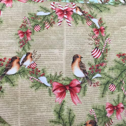 Tecido Pássaro Digital 4