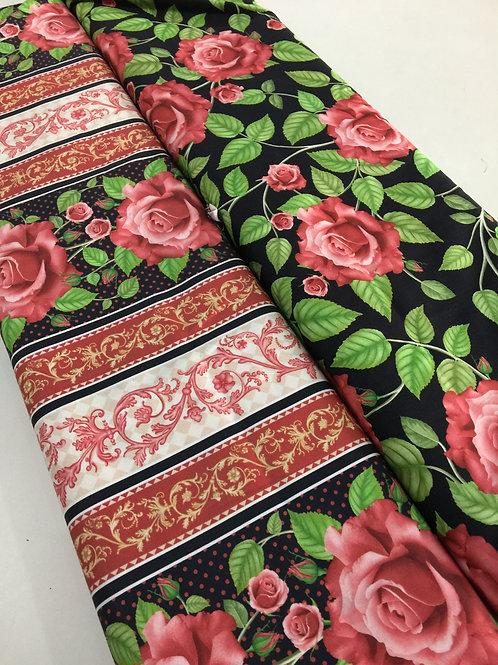 Kit Barrado Floral