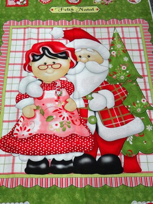 Painel Grande Papai e Mamãe Noel