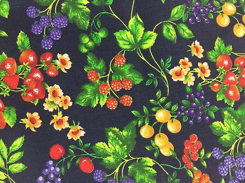 Tecido Nacional de Frutinhas
