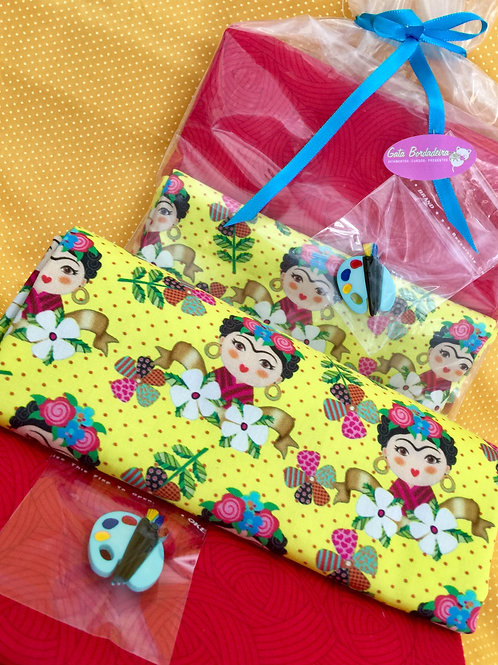Kit Frida Amarelinha