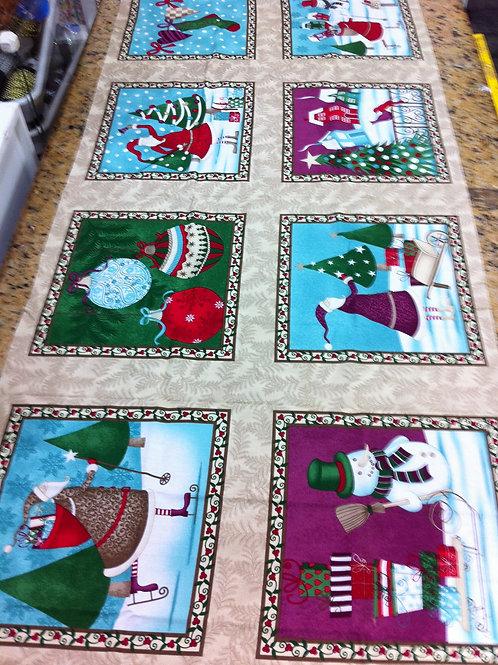 Natal Turquesa Quadros Médios