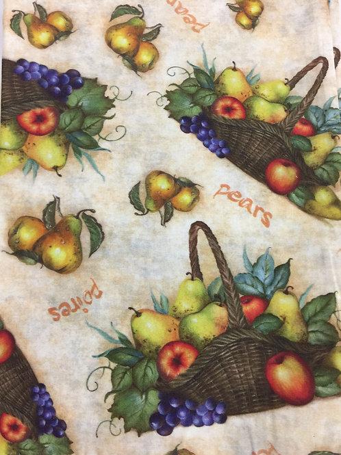 Tecido Digital Cesta de Frutas