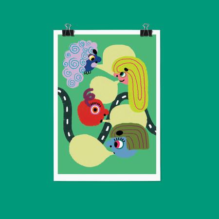 AtGC illustration and layout design