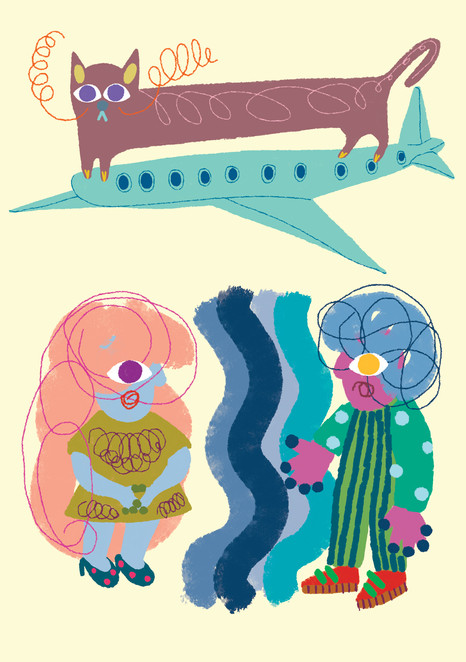 DCA illustration and layout design