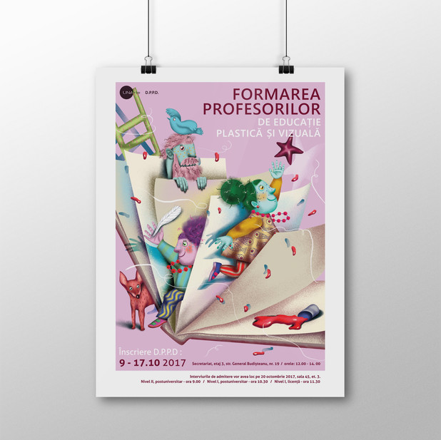 Poster Design for Pedagogical Courses