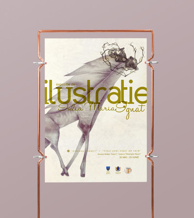 Poster Design for my first SoloExhibition.
