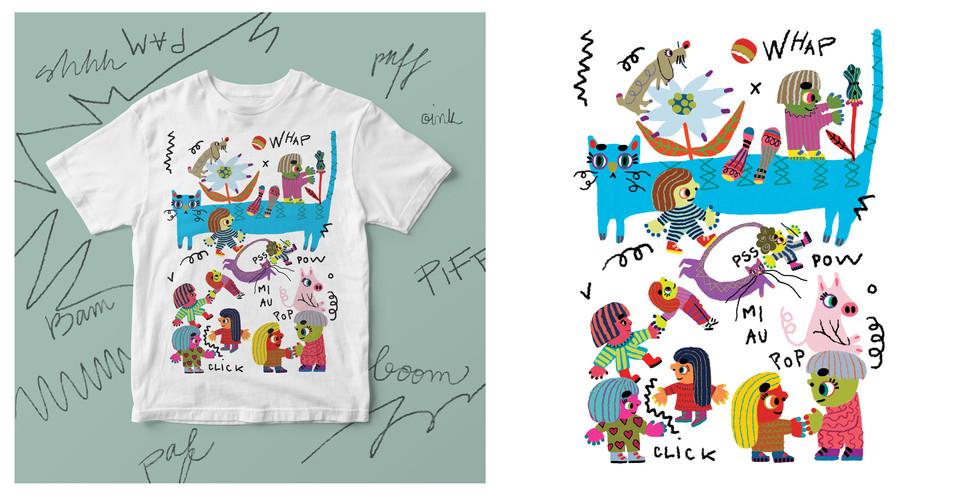 T shirt pattern design