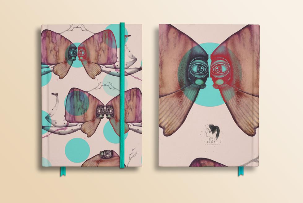 Notebook pattern design