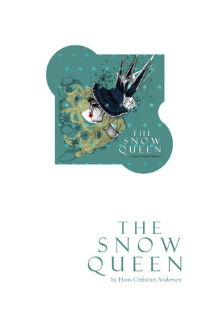 Snow Queen, by Hans Christian Andersen, cover design