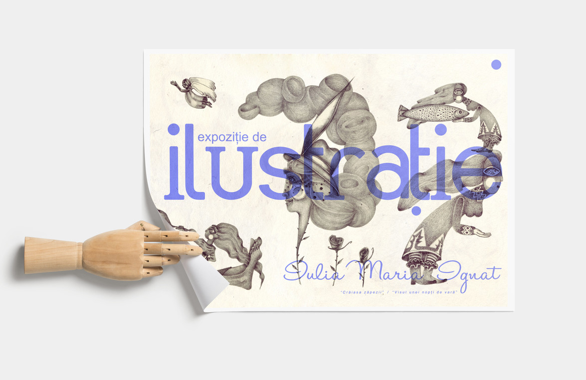 Flyer Design for my first SoloExhibition
