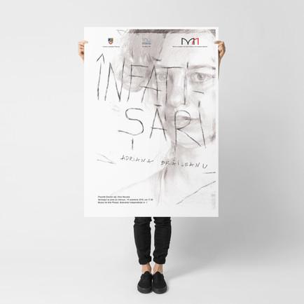Poster Design for a portrait exhibition