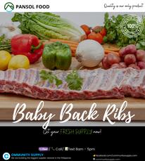 Baby back Ribs