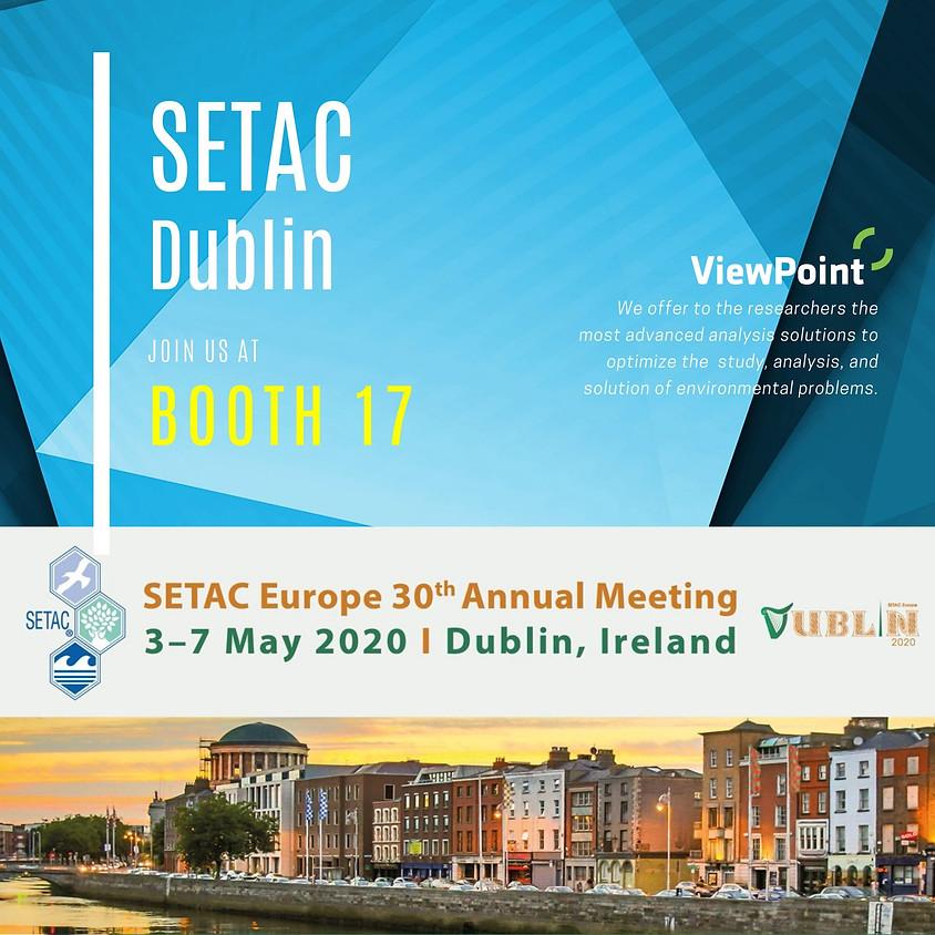 SETAC Dublin – SETAC Europe 30th Annual Meeting - VIRTUAL