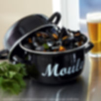 Cocotte of french Mussels