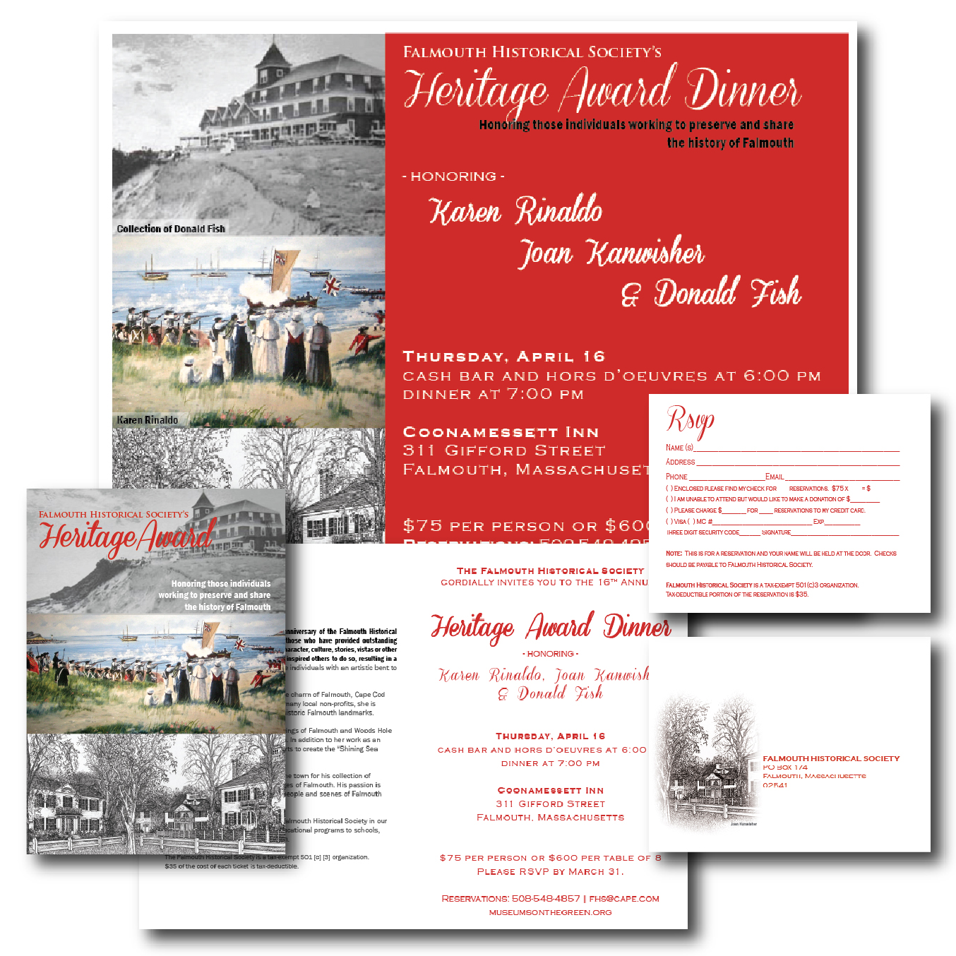 Invitation Package, 2015
